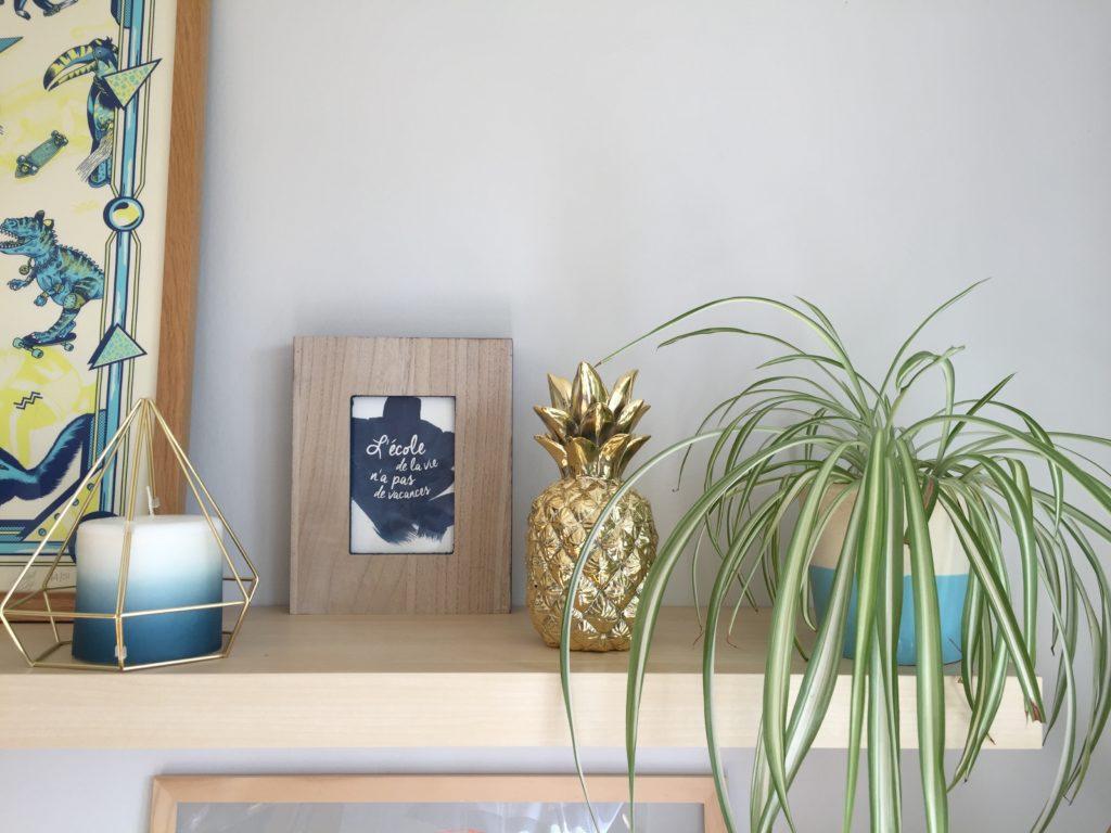 La bougie ananas dorée : le must have de la saison !