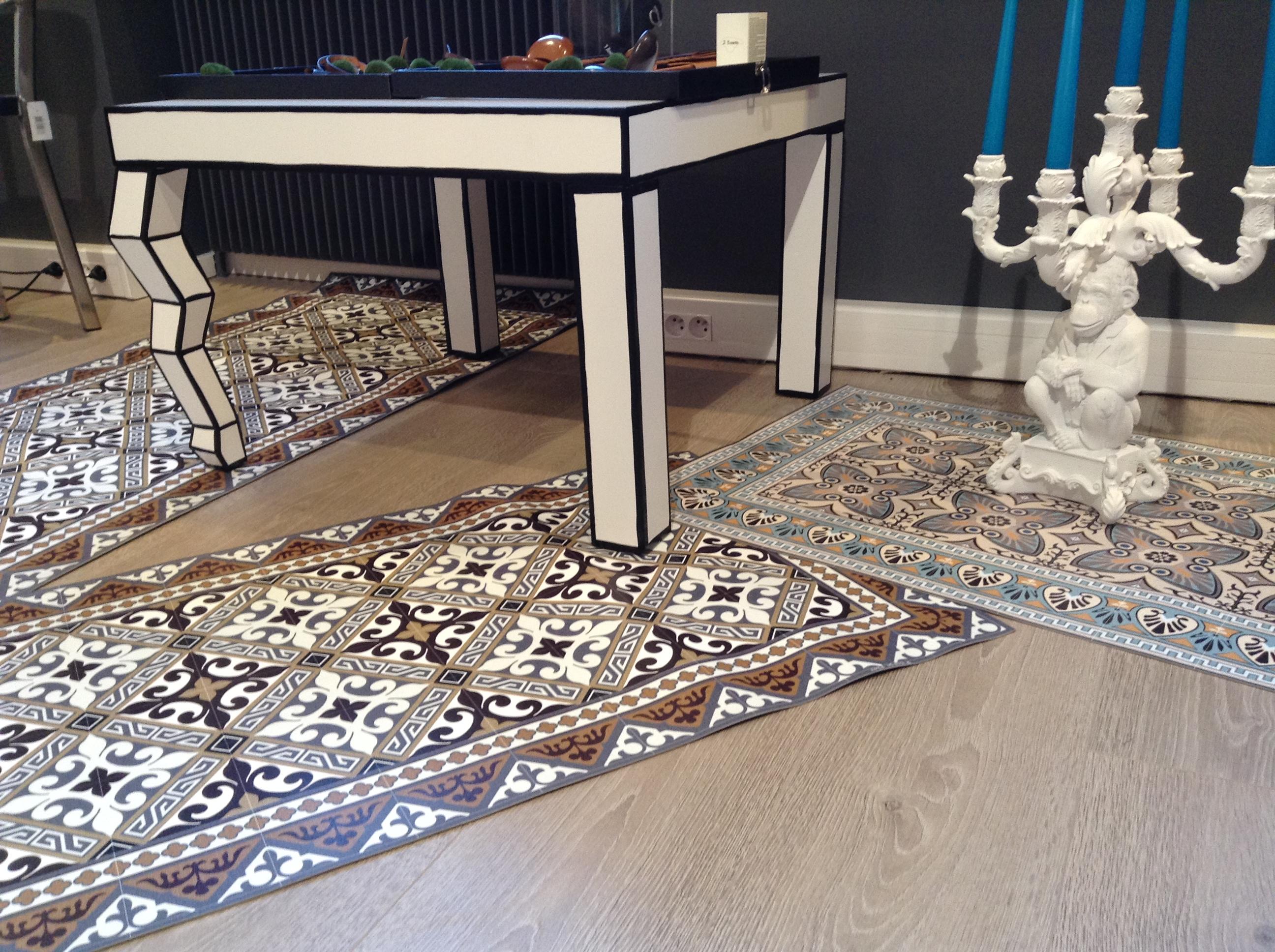 Beija Carpet. Eclectic Vinyl Mat Blackwhite With Beija Carpet ...