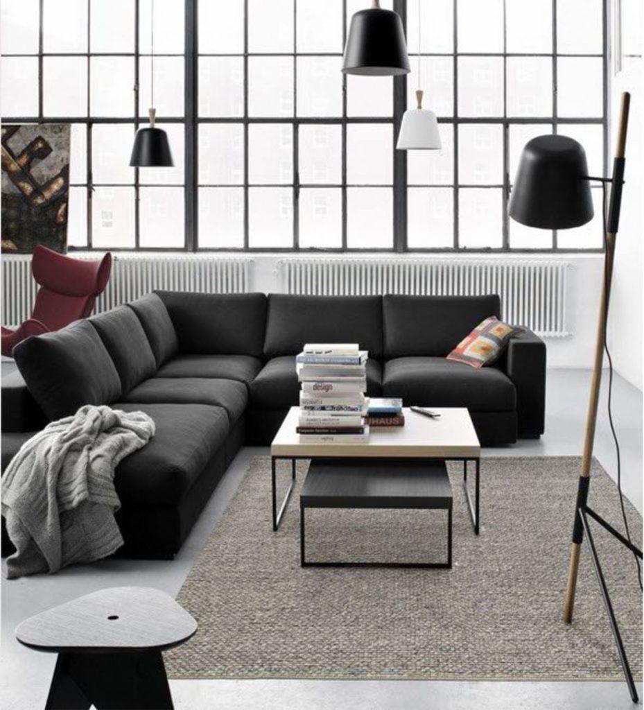 canap pour petit espace fabulous un canap au milieu du salon pour viter lueffet couloir ici. Black Bedroom Furniture Sets. Home Design Ideas
